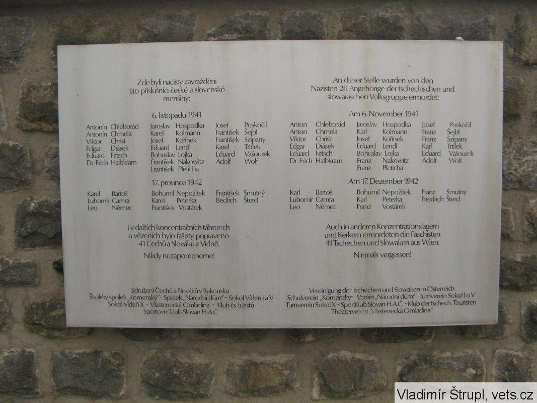 Mauthausen Spolek Pro Vojenska Pietni Mista